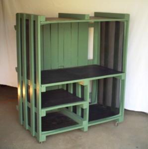 meuble hifi palette - Art'ébèn