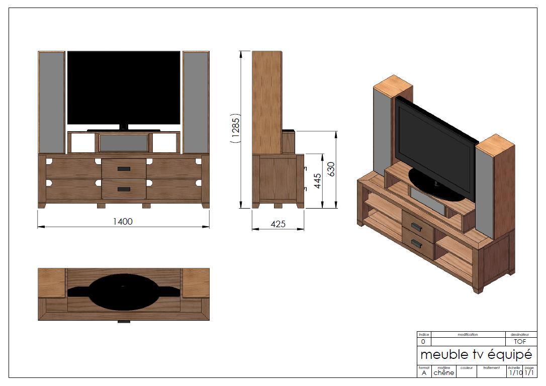 meuble tv dco scandinave idee meuble tv dangle - Idee Meuble Tv Dangle
