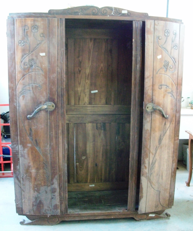 Armoire biblioth que n 2art 39 b n - Transformer un meuble en bar ...