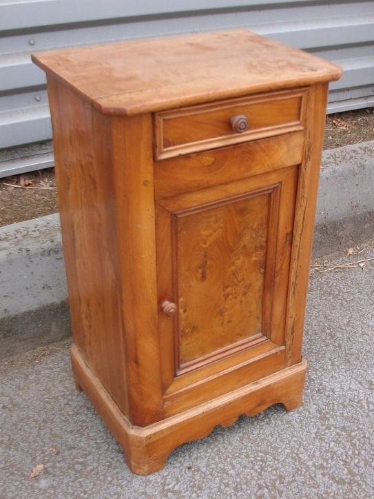 Table de chevet art 39 b nart 39 b n - Table de nuit rustique ...