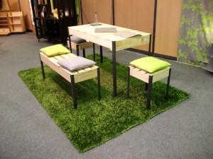 mobiliers en bois de palette - Art'ébèn