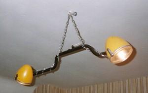 lustre phares de 2CV - Art'ébèn