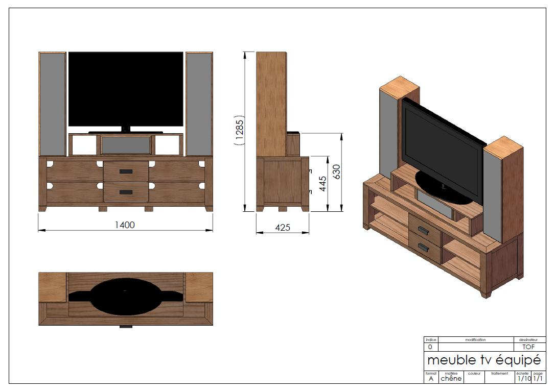Meuble En Palette Plan Latest The Plans Include A Material Cut  # Plans Meubles En Palettes