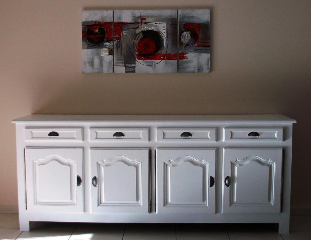 Enfilade 4 portes relook eart 39 b n for Les mousquetaires du meuble