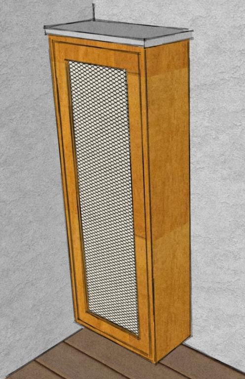 caisson sur mesure pour la t l phonieart 39 b n. Black Bedroom Furniture Sets. Home Design Ideas