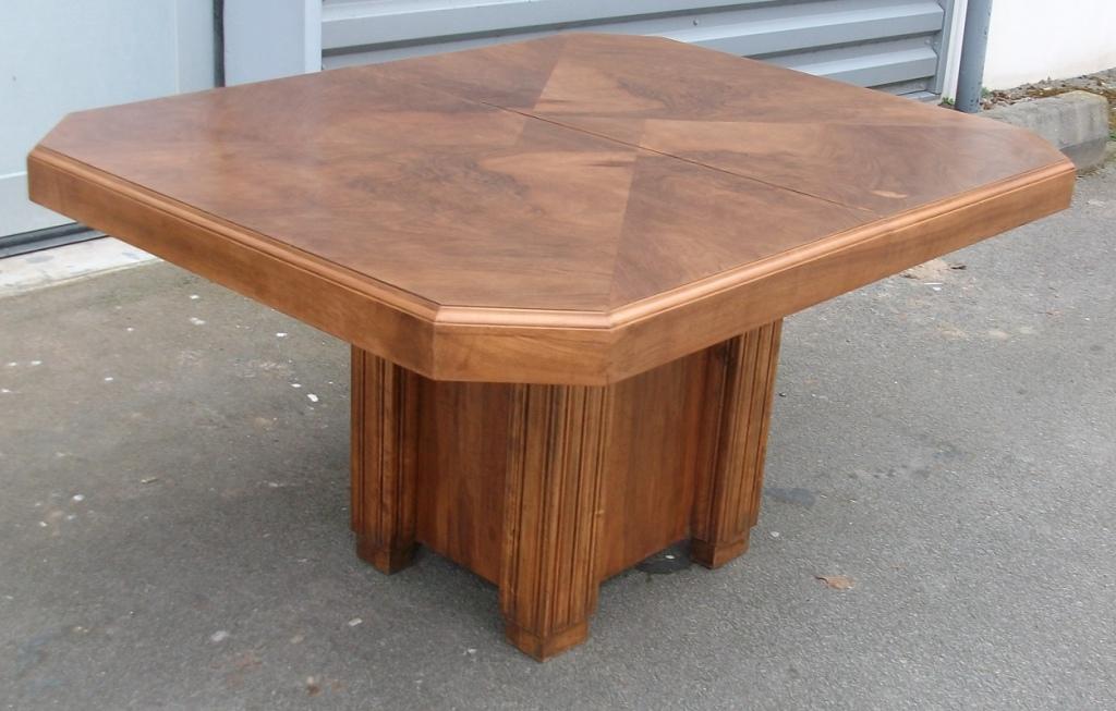 table ancienne rallongesart 39 b n. Black Bedroom Furniture Sets. Home Design Ideas