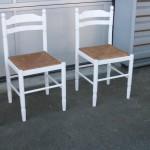 chaises paillées - Art'ébèn