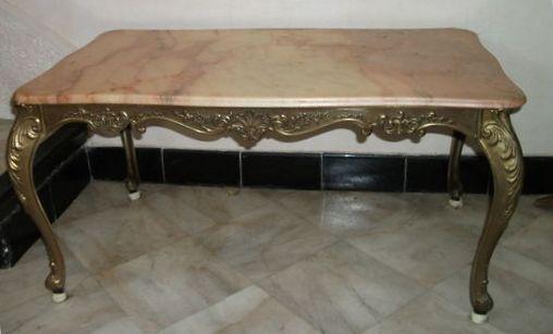 Table basse style louis xvart 39 b n - Relooker table basse ...