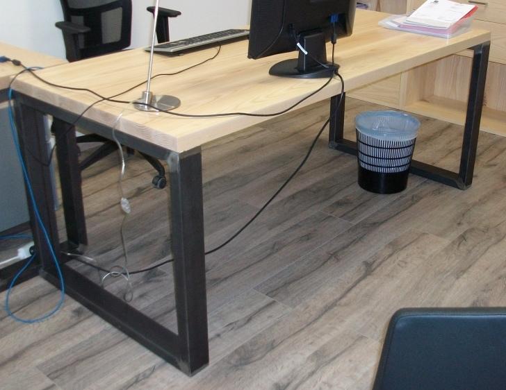 best bureau mtal frne artubn with bureau en metal with trteau ika. Black Bedroom Furniture Sets. Home Design Ideas