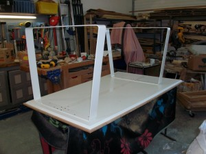 bureau métal-bambou - arteben