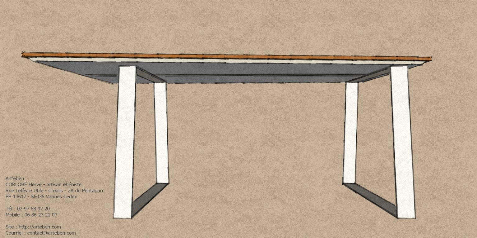 bureau bambou m talart 39 b n. Black Bedroom Furniture Sets. Home Design Ideas
