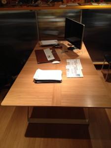 bureau bambou - métal - art'ébèn