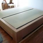 Lit pour tatami et futon - art'ébèn