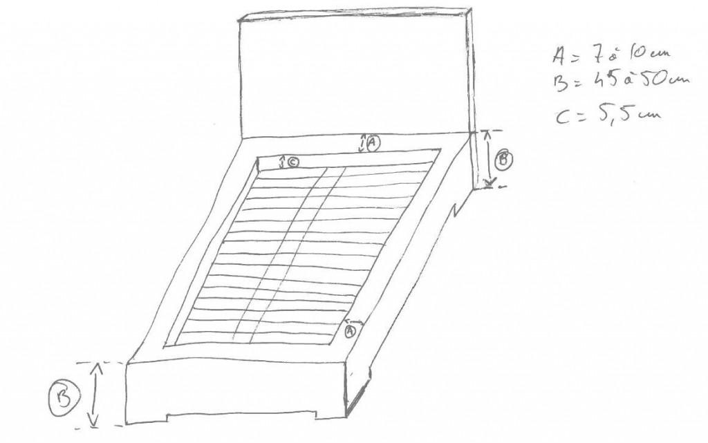 ebauche lit tatami et futon - arteben