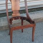 Chaise en acajou - Art'ébèn
