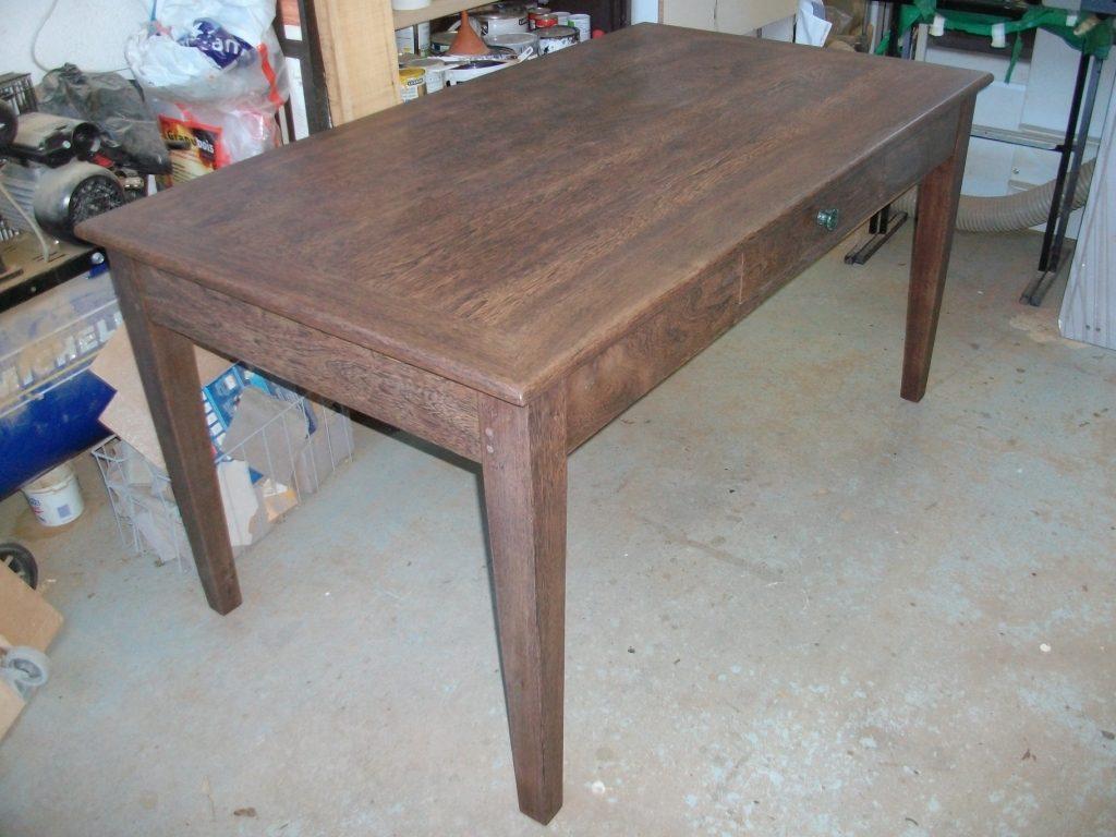 table bois exotique - art'ébèn