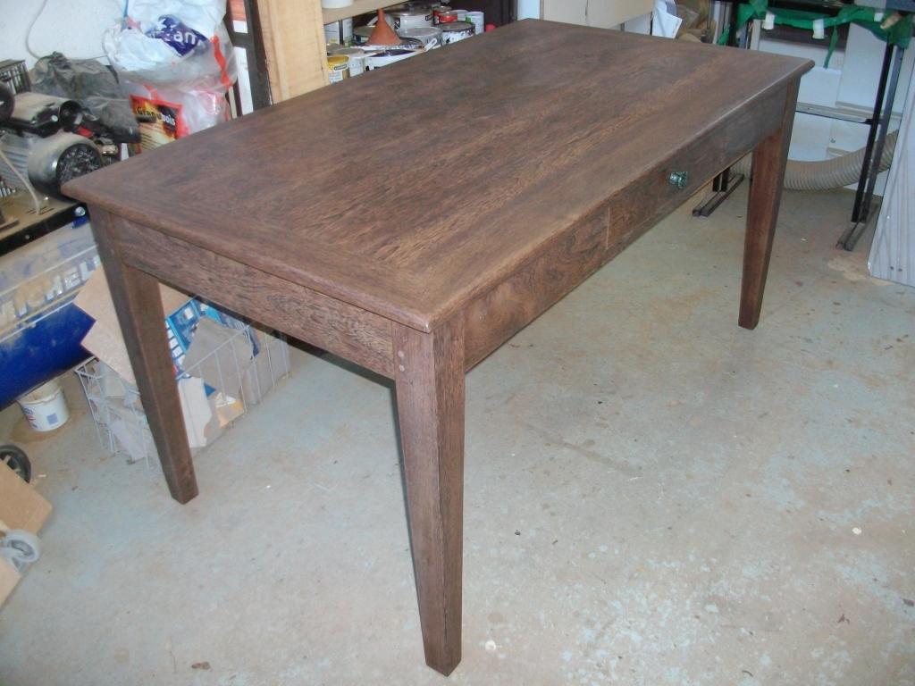 table en bois exotique art 39 b nart 39 b n. Black Bedroom Furniture Sets. Home Design Ideas