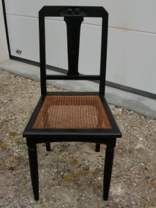 Chaises Henri II relookées - art'ébèn