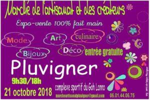 marché artisans pluvigner 2018 - art'ébèn